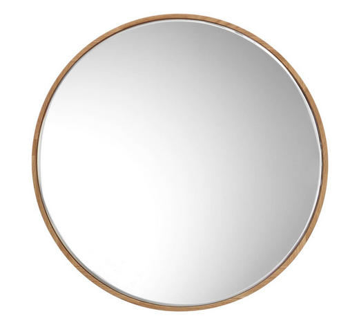 SPIEGEL 60/60/1,6 cm - Eichefarben, Design, Glas/Holz (60/60/1,6cm) - Hom`in