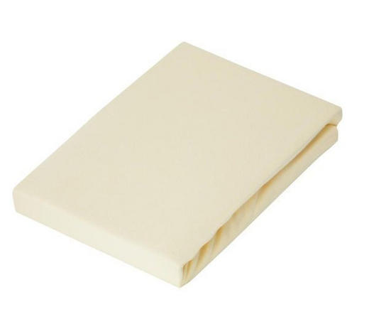 KINDERSPANNLEINTUCH - Hellgelb, Basics, Textil (65/135cm) - Patinio