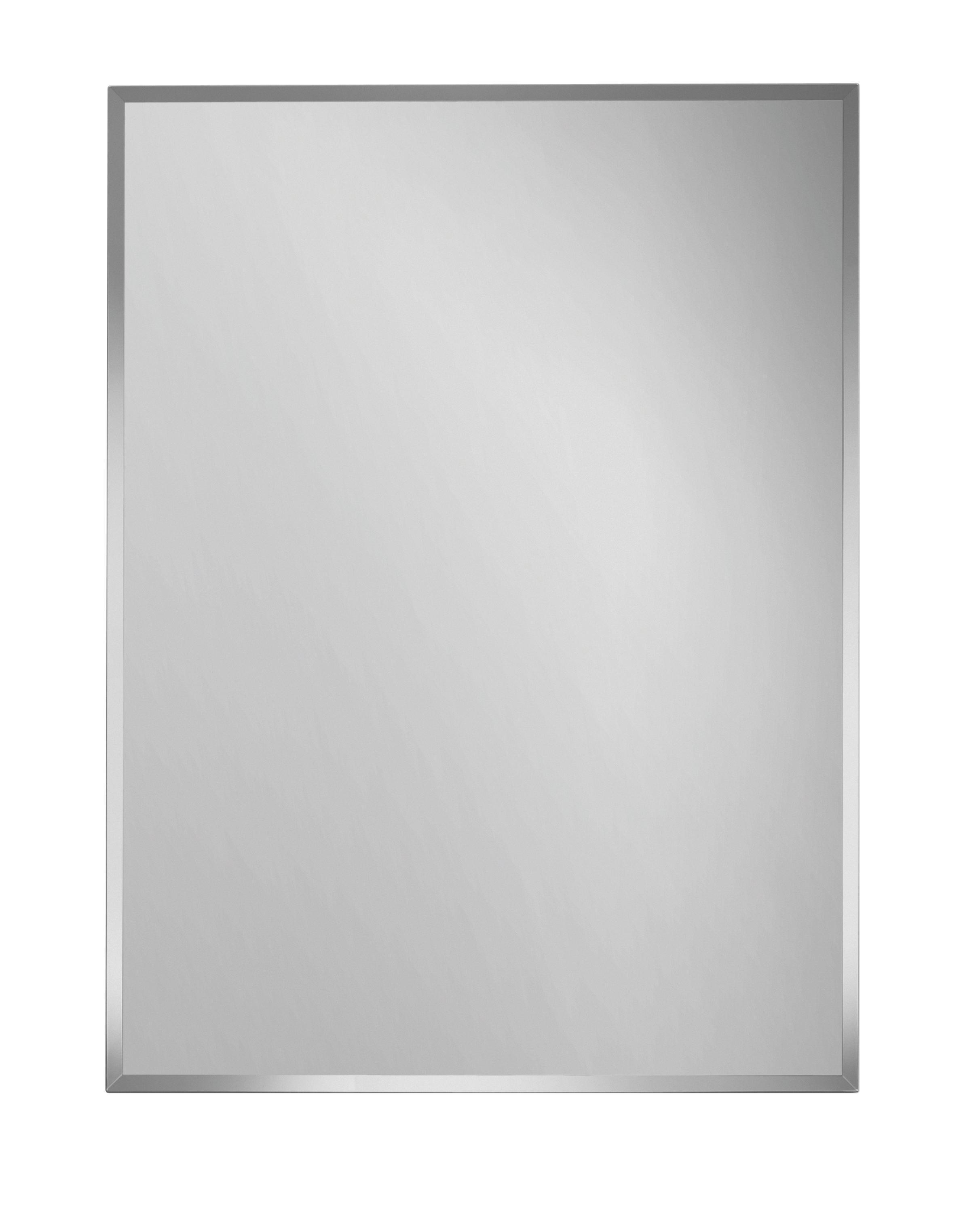 OGLEDALO - boje srebra, Design (45/60/0,3cm) - BOXXX