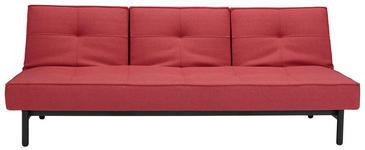 SCHLAFSOFA Webstoff Rostfarben, Rot - Rostfarben/Rot, Design, Textil (210/79/90cm) - DIETER KNOLL