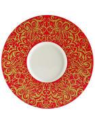 PLATZTELLER - Gelb/Orange, KONVENTIONELL, Keramik (30,2cm) - Novel