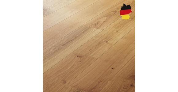 Schlossdiele Eiche lebhaft  per  m² - Eichefarben, KONVENTIONELL, Holzwerkstoff (240/25,5/0,13cm) - Ambiente