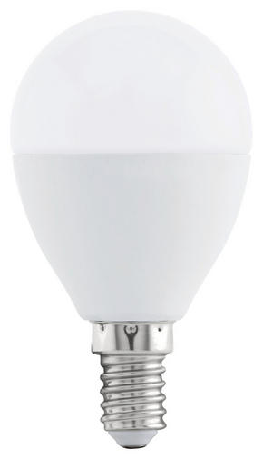 LED - vit, Basics, metall (5cm)