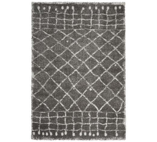 HOCHFLORTEPPICH - Creme/Weiß, KONVENTIONELL, Textil (120/170cm) - Novel