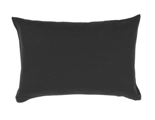 KISSENHÜLLE Schwarz 40/60 cm - Schwarz, Basics, Textil (40/60cm) - Schlafgut