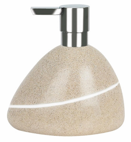 SEIFENSPENDER - Sandfarben, Basics, Kunststoff (13.5/14.5cm) - SPIRELLA