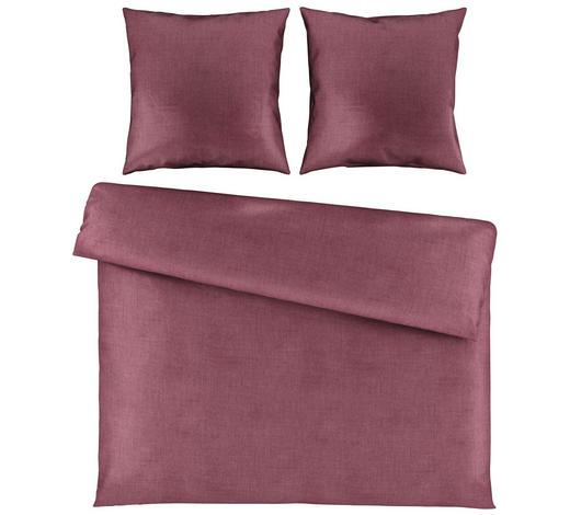 BETTWÄSCHE Satin Violett 200/200 cm  - Violett, Basics, Textil (200/200cm) - Novel
