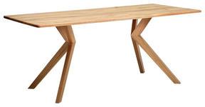 ESSTISCH in Holz 240/100/76 cm   - Eichefarben, KONVENTIONELL, Holz (240/100/76cm) - Venda