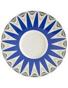 PLATZTELLER - Blau/Weiß, Basics, Keramik (30,2cm) - Novel