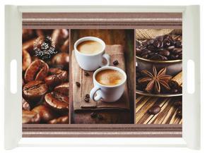 SERVERINGSBRICKA - brun, Klassisk, plast (45,5/31cm) - Homeware
