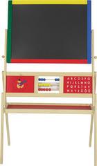 MALTAFEL - Multicolor/Kieferfarben, Basics, Holz/Metall (69/37/113cm) - My Baby Lou