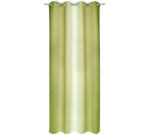 ÖSENVORHANG black-out (lichtundurchlässig) - Hellgrün, KONVENTIONELL, Textil (135/245cm) - Esposa