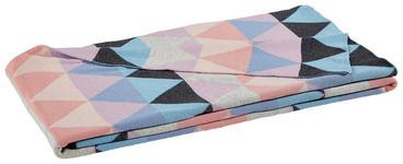 WOHNDECKE 130/170 cm Multicolor  - Multicolor, Design, Textil (130/170cm) - Novel