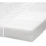 KOMFORTSCHAUMMATRATZE 90/200 cm 17 cm - Weiß, Basics, Textil (90/200cm) - Carryhome