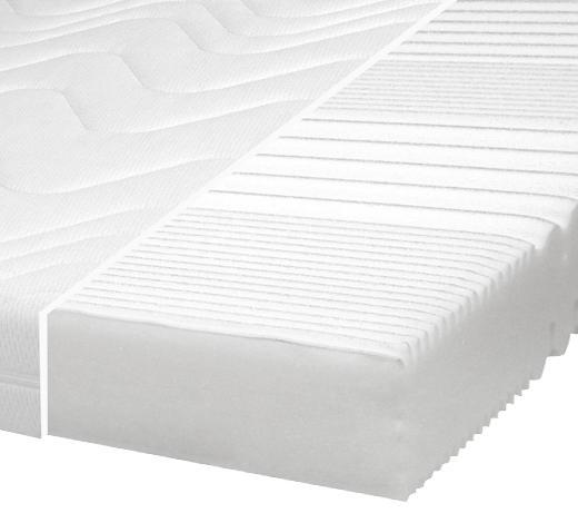 KOMFORTSCHAUMMATRATZE 140/200 cm 17 cm - Weiß, Basics, Textil (140/200cm) - Carryhome