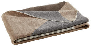 WOHNDECKE 150/200 cm Grau, Beige  - Beige/Grau, Textil (150/200cm) - Novel
