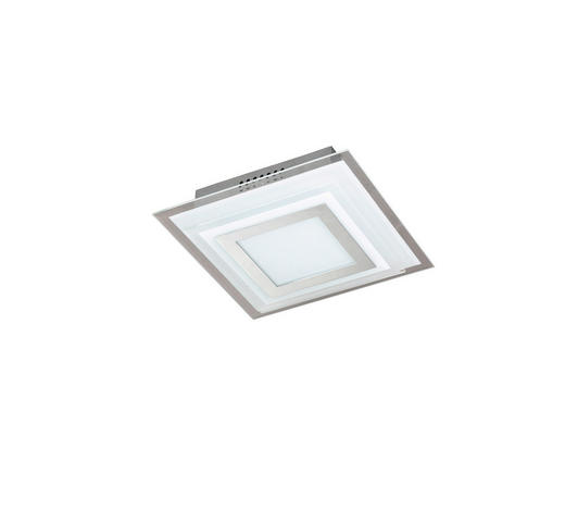LED-PANEEL - Design, Glas/Metall (18/18/7,2cm)