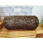 Nackenrolle Gepard - Schwarz/Braun, MODERN, Textil (20/50cm) - Luca Bessoni