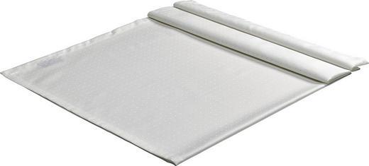 TISCHDECKE Textil Weiß 130/170 cm - Weiß, Textil (130/170cm)