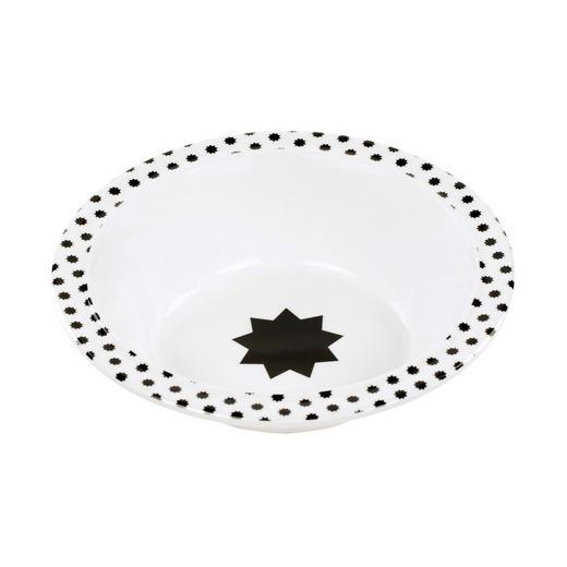KINDERSCHÜSSEL - Schwarz/Weiß, Basics, Kunststoff (16,2/4cm) - Lässig