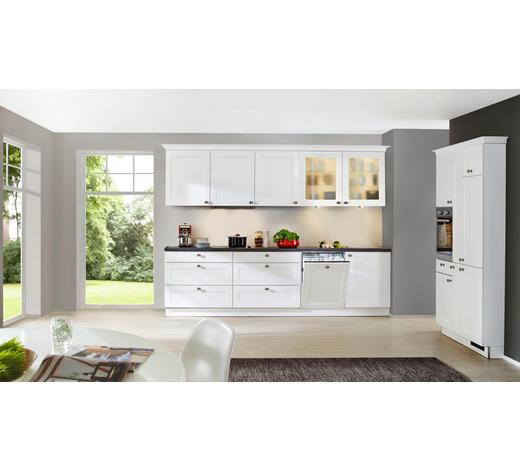 EINBAUKÜCHE  - Eichefarben/Weiß, Design - Nolte Küchen