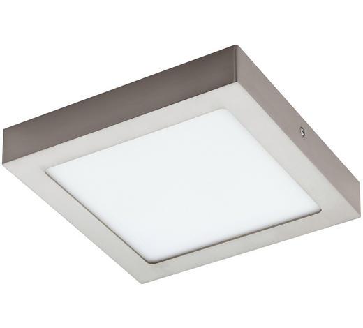 SVÍTIDLO - bílá/barvy niklu, Konvenční, kov/umělá hmota (22,5/22,5/4cm)