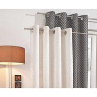 Ösenvorhang blickdicht - Naturfarben, Design, Textil (140/250cm) - Joop!