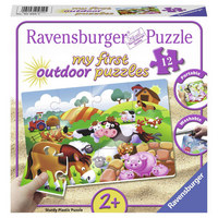 PUZZLE - Multicolor, Basics, Kunststoff (19/19/4,8cm) - Ravensburger