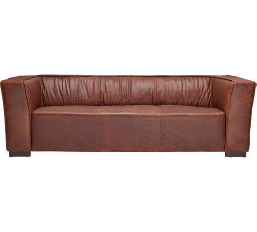 Sofa In Holz Leder Braun Online Kaufen Xxxlutz