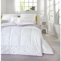 CELOLETNA PREŠITA ODEJA ZEN - bela, Konvencionalno, tekstil (140/200cm) - Sleeptex