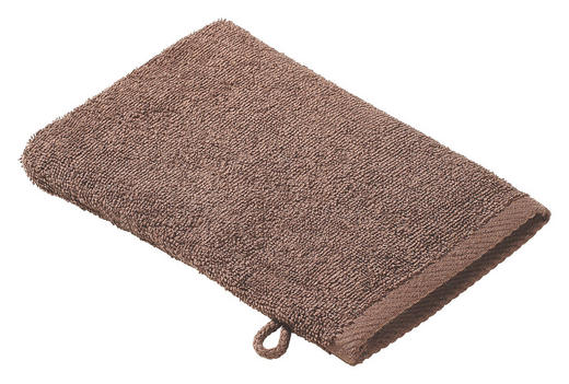 WASCHHANDSCHUH  Taupe - Taupe, Basics, Textil (16/22cm) - Esposa
