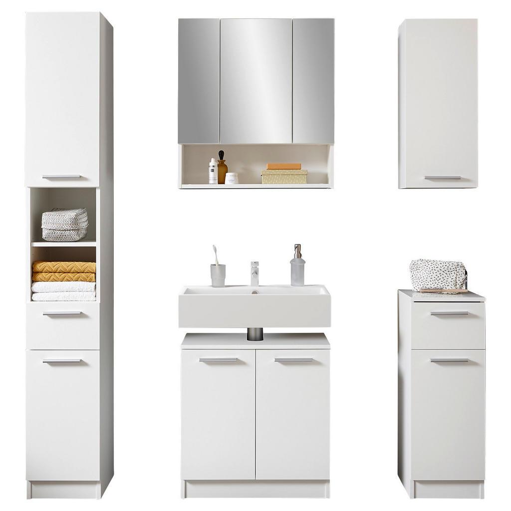 Livetastic Badezimmer in weiß weiß