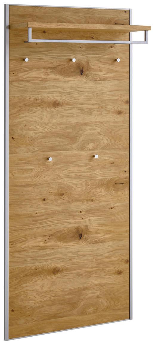 GARDEROBENPANEEL Balkeneiche furniert lackiert Eichefarben - Eichefarben, MODERN, Holz (80/183/27cm)