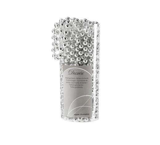 GIRLANDA,  - barvy stříbra, Trend, umělá hmota (1000cm)