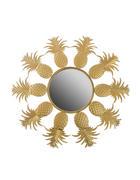 WANDSPIEGEL Goldfarben  - Goldfarben, Trend, Glas/Metall (50cm)