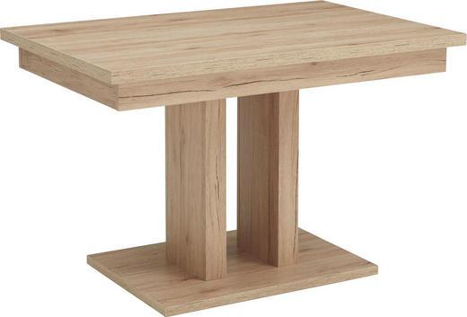 ESSTISCH in Holzwerkstoff 120(160)/80/77 cm - Sandfarben/Eichefarben, Natur, Holzwerkstoff (120(160)/80/77cm) - Cantus