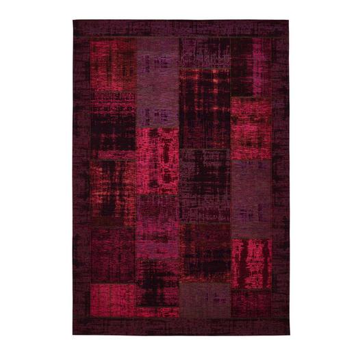 FLACHWEBETEPPICH  60/90 cm  Brombeere - Brombeere, Basics, Textil (60/90cm) - Novel