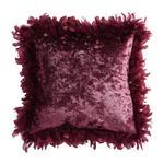 KISSENHÜLLE Aubergine 43/43 cm  - Aubergine, Design, Textil (43/43cm) - Ambiente