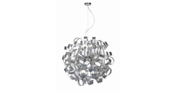 LED-HÄNGELEUCHTE 95/340 cm  - Alufarben, Design, Metall (95/340cm) - Ambiente