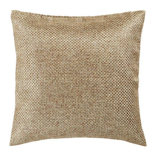 KISSENHÜLLE Goldfarben 40/40 cm - Goldfarben, Design, Textil (40/40cm) - Novel
