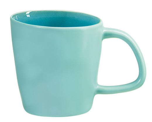 KAFFEEBECHER - Türkis, Basics, Keramik (0,3l) - ASA
