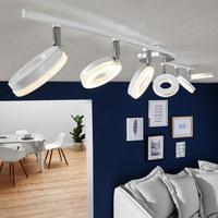 LED-DECKENLEUCHTE - Weiß, MODERN, Kunststoff/Metall (102/19/10,5cm)
