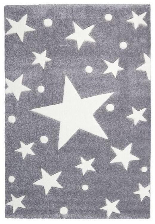 KINDERTEPPICH  140/140 cm  Silberfarben, Weiß - Silberfarben/Weiß, Basics, Textil (140/140cm)