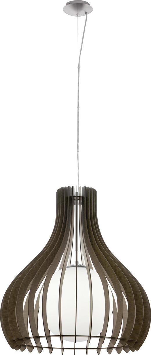 TAKLAMPA - brun, Natur, metall/glas (60/200cm) - NOVEL