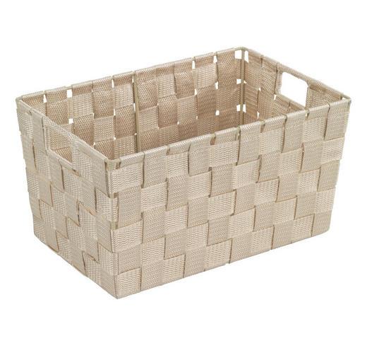 KORB - Beige, Basics, Kunststoff (30/20/15cm)