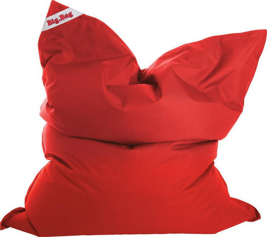 SITZSACK Rot - Rot, Design, Textil (125/155cm) - CARRYHOME