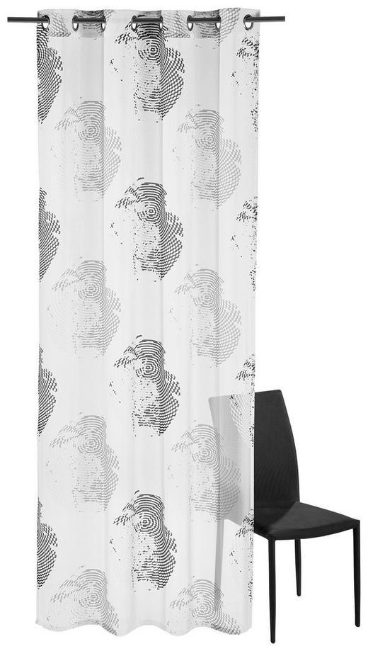 ÖSENSCHAL  halbtransparent  135/245 cm - Schwarz, Design, Textil (135/245cm) - Esposa