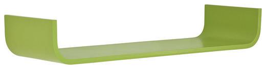 WANDBOARD Holz Birke massiv Grün - Grün, Design, Holz (80/12/25cm) - Carryhome