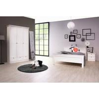 POSTEL - bílá, Lifestyle, kompozitní dřevo (140/200cm) - Xora