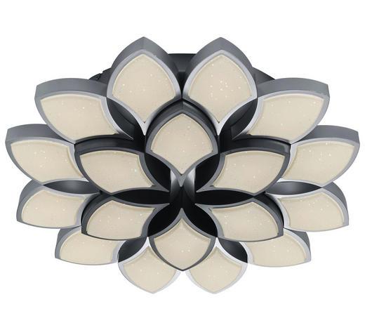 LED STROPNÍ SVÍTIDLO - šedá, Konvenční, kov (65/10,5cm)